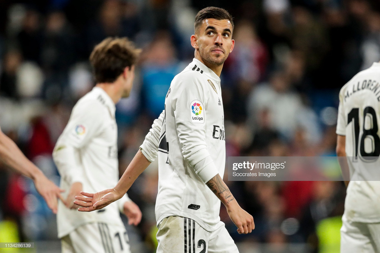 Spurs battle Arsenal in the pursuit for Real Madrid's Dani Ceballos