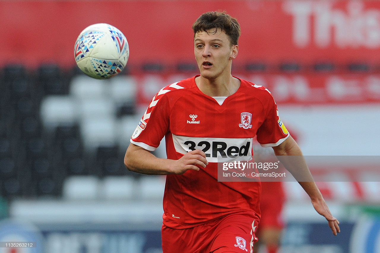 Burnley fail in £8million bid for Middlesbrough's Dael Fry