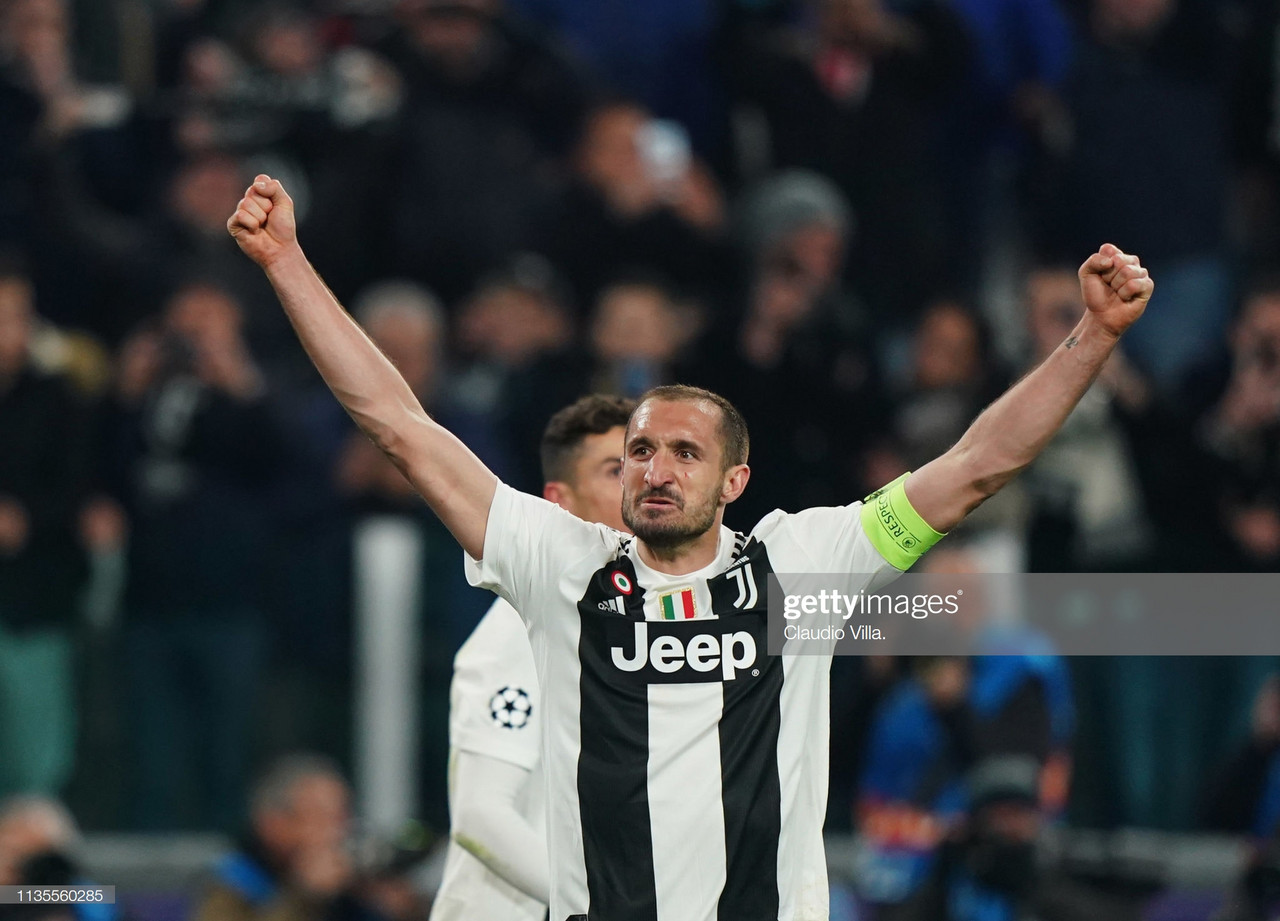 The importance of Giorgio Chiellini