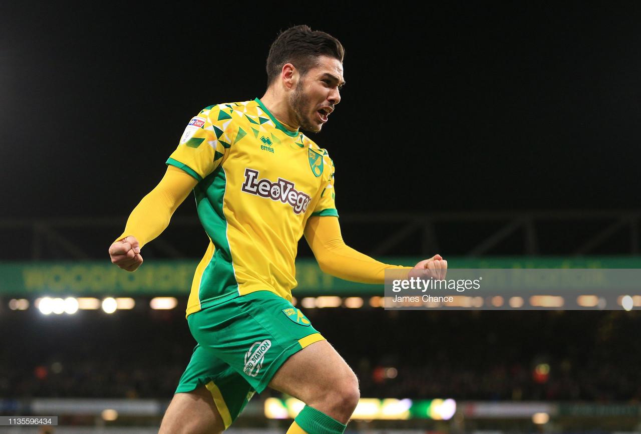 The star of Norwich City: Emi Buendia