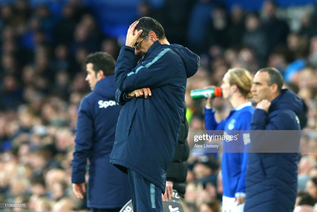 Maurizio Sarri admits Chelsea have a mentality issue