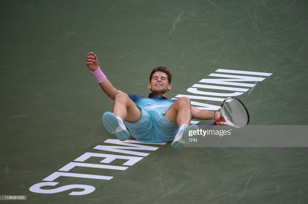 ATP Indian Wells: Dominic Thiem stuns Roger Federer to claim first Masters 1000 crown