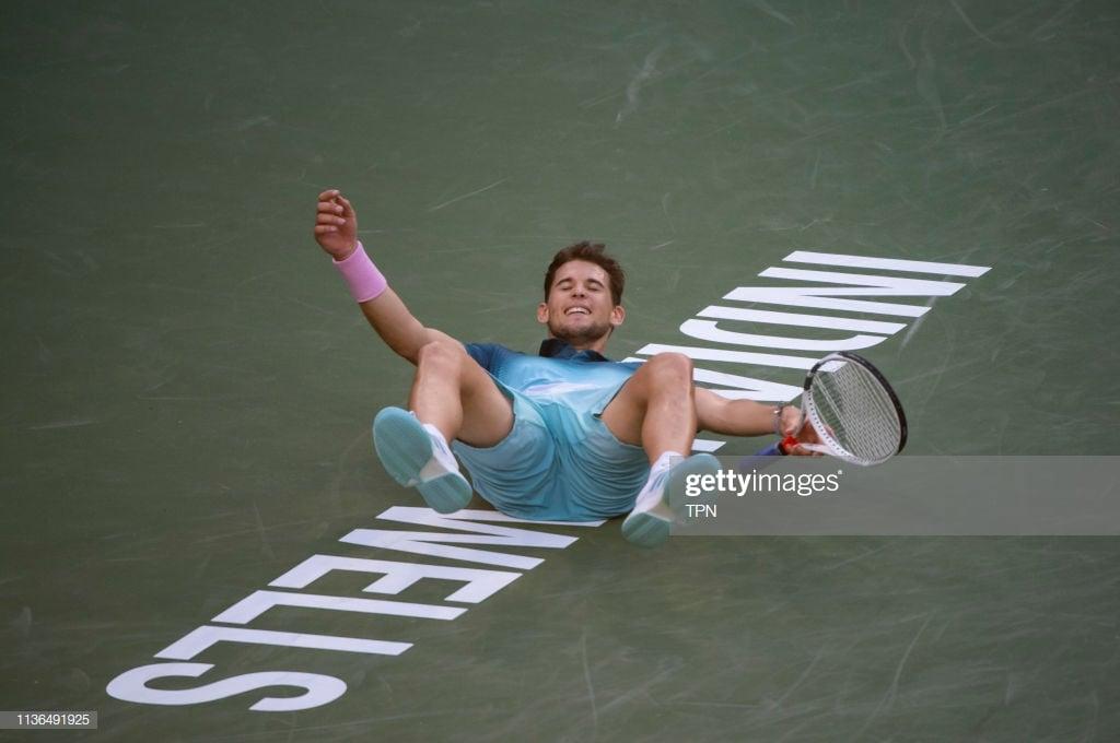 Thiem beats Federer to win Indian Wells