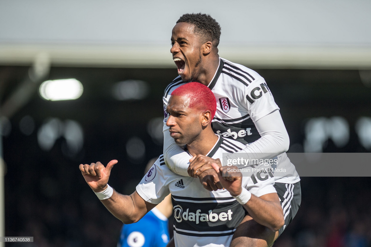 Fulham 2-0 Everton: Fluid Cottagers pick up first win since January