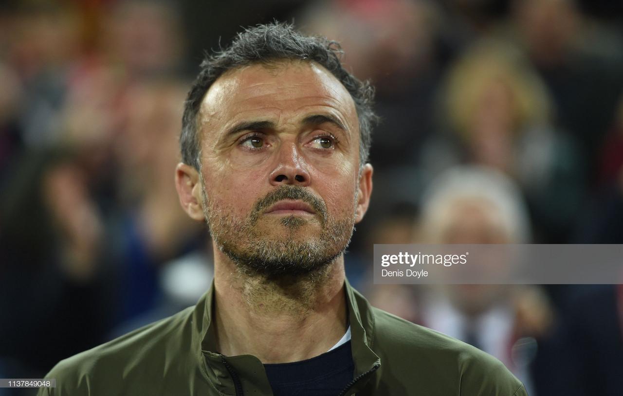Luís Enrique abandona o cargo de selecionador espanhol