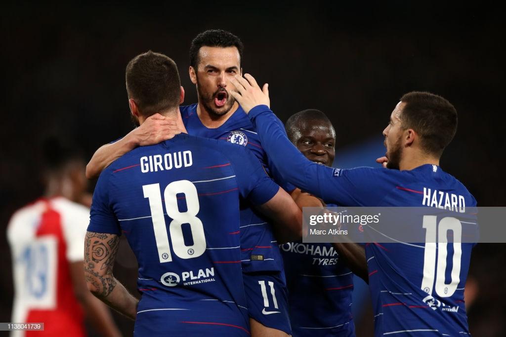 As it happened: Chelsea scrape draw in Europa League semi-final first leg