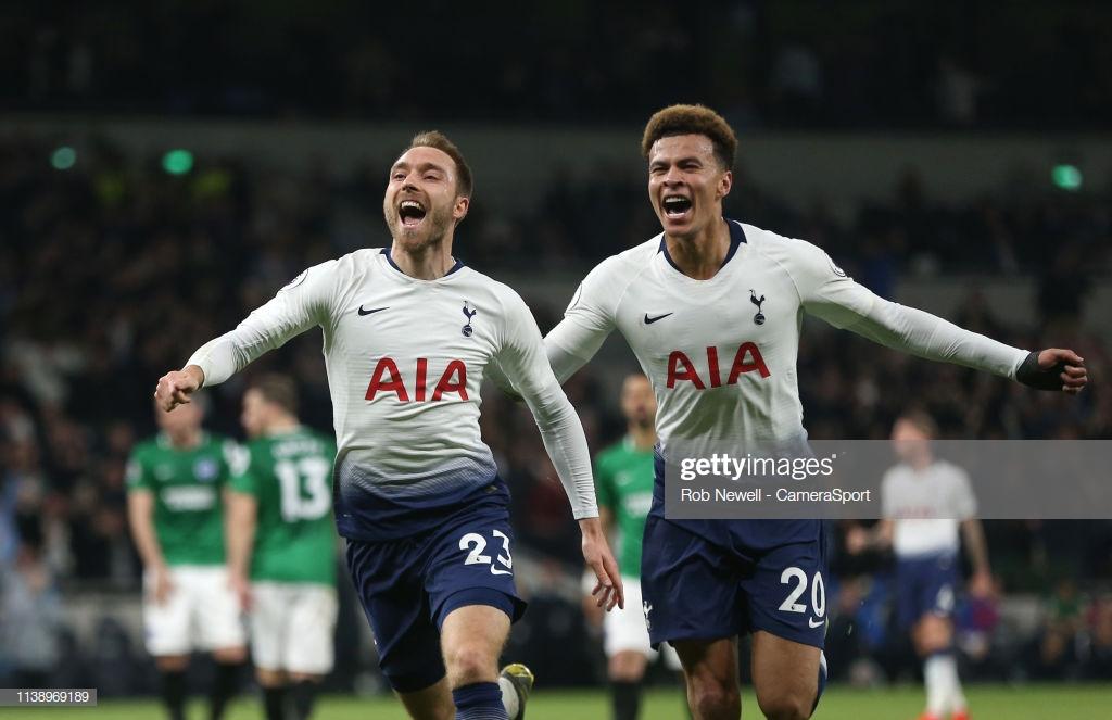 Tottenham Hotspur 1-0 Brighton & Hove Albion: Eriksen winner breaks Seagulls' hearts