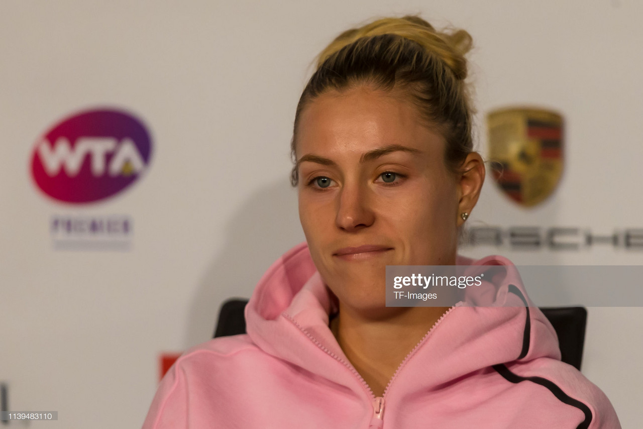 "Angelique Kerber calls possible career Grand Slam ""amazing"""