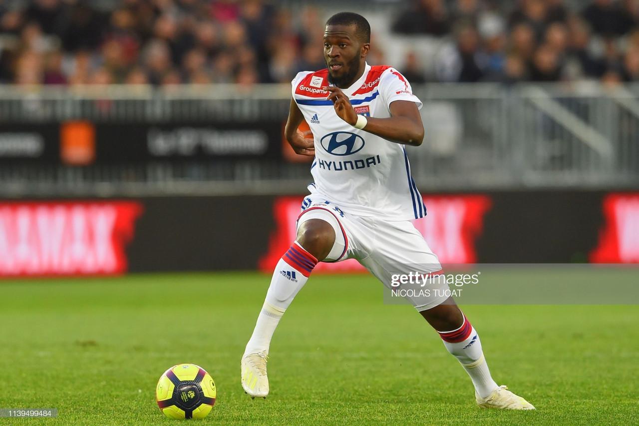 Tottenham Hotspur close in on Lyon's Tanguy Ndombele