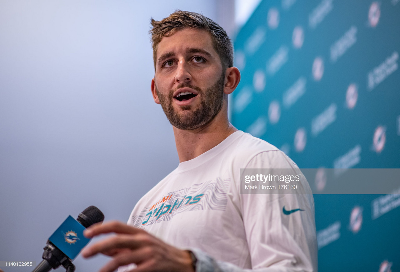 Josh Rosen relishing second chance