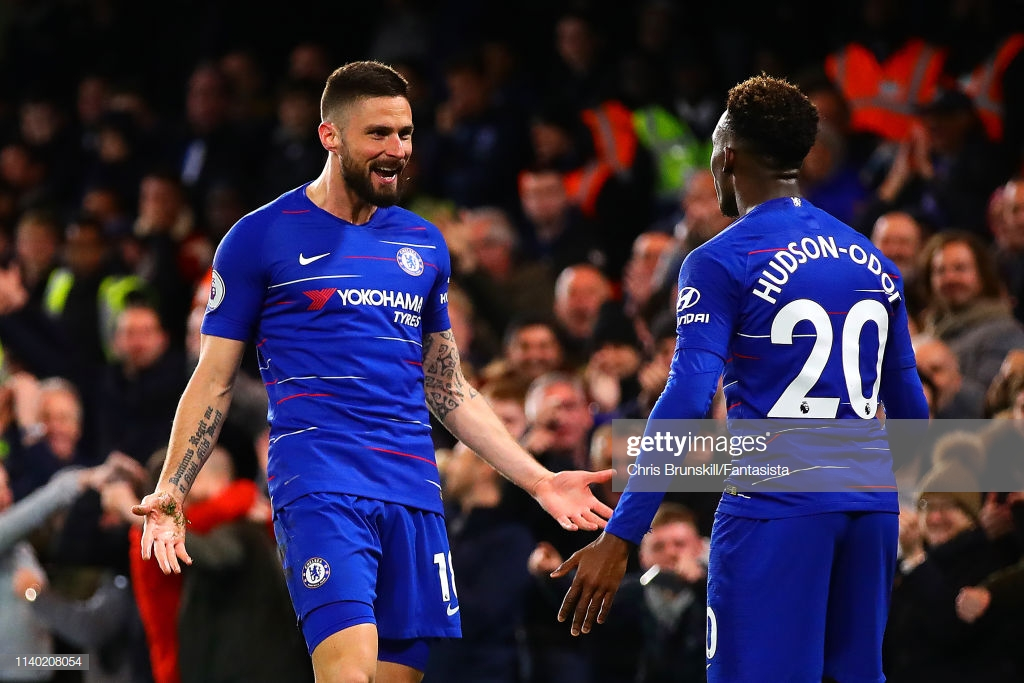 Chelsea 3-0 Brighton: Hudson-Odoi starts as Blues seal win