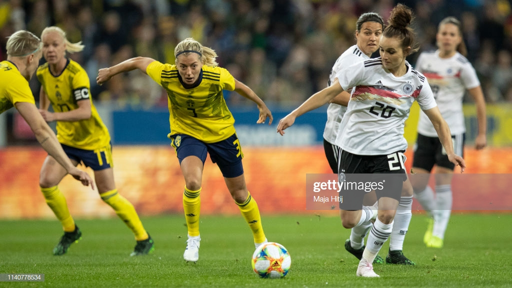 Sweden 1-2 Germany: Germans outclass their hosts
