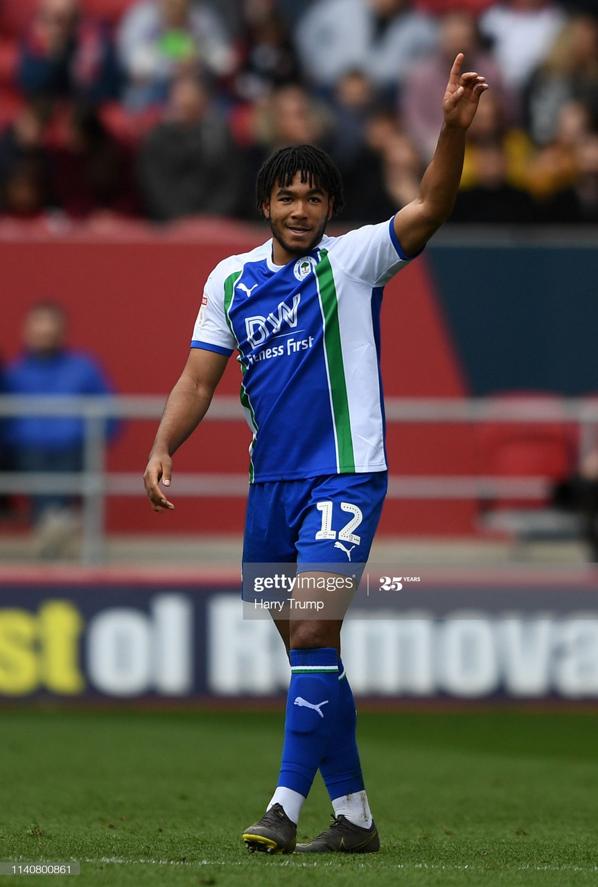 Never forget your roots: Reece James' pledge for Wigan