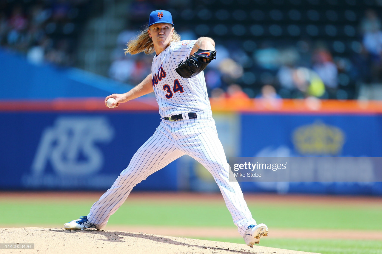 Noah Syndergaard stars on mound, at plate in Mets 1-0 win over Reds
