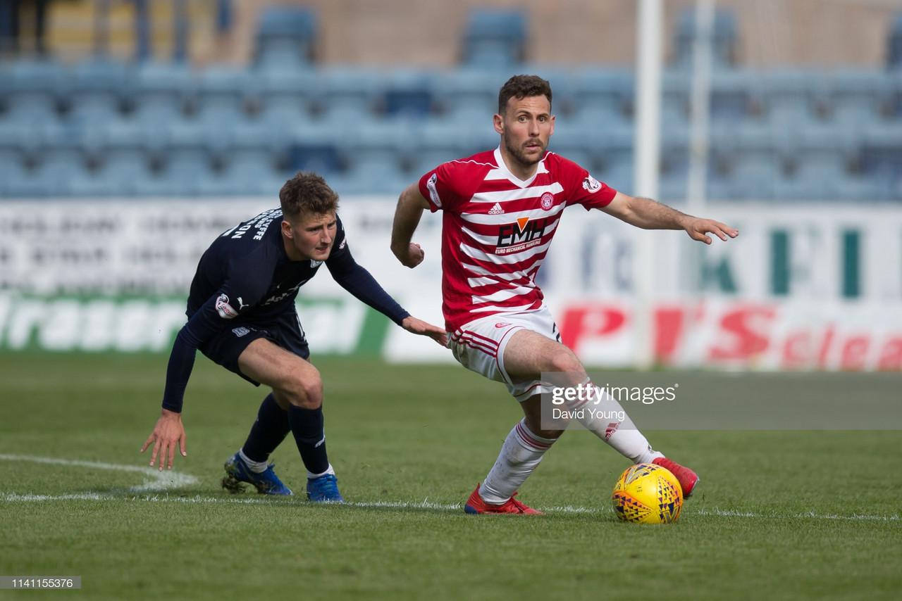 Tony Andreu signs for St Mirren