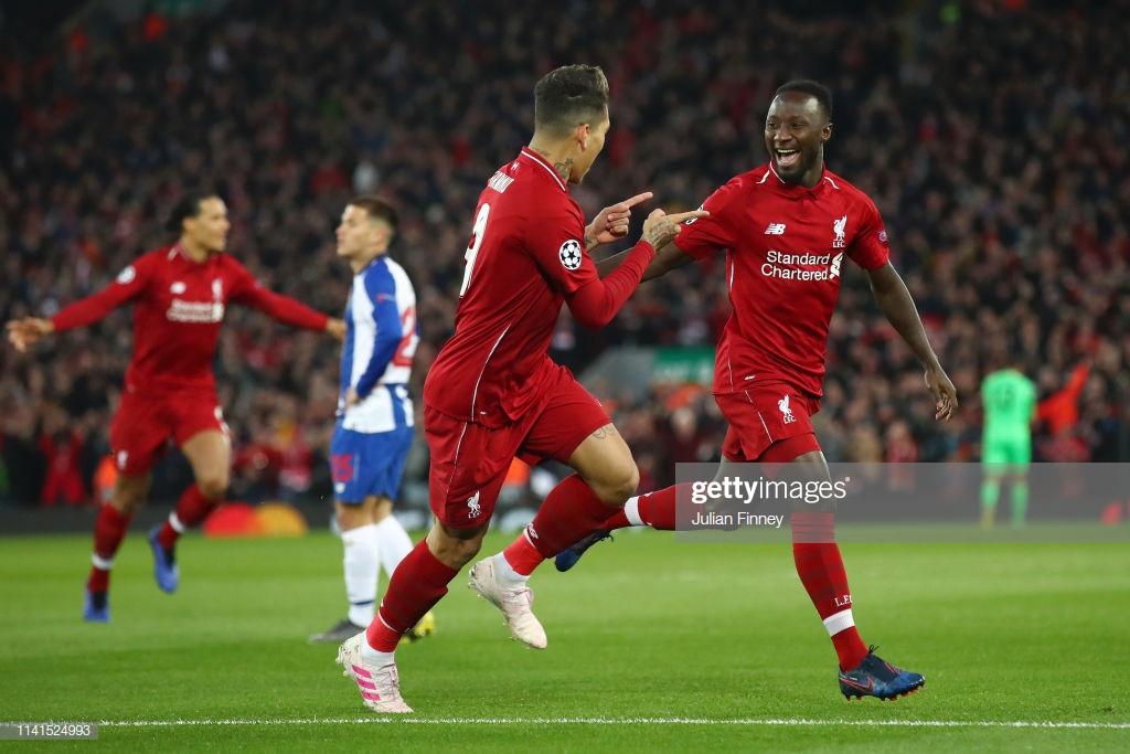 Liverpool 2-0 Porto: Reds halfway to Champions League semi-final