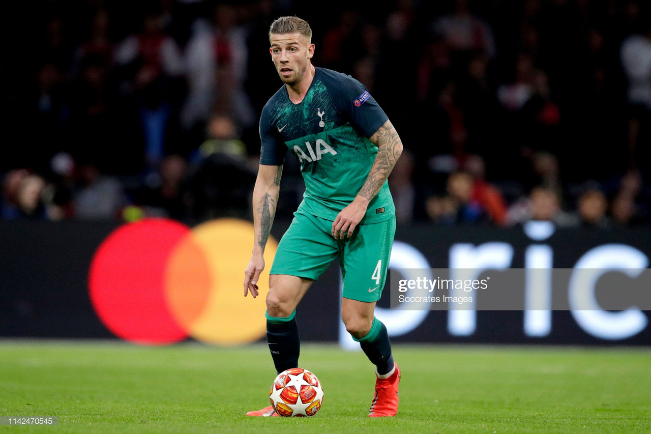 Toby Alderweireld plans to see out his contract at Spurs