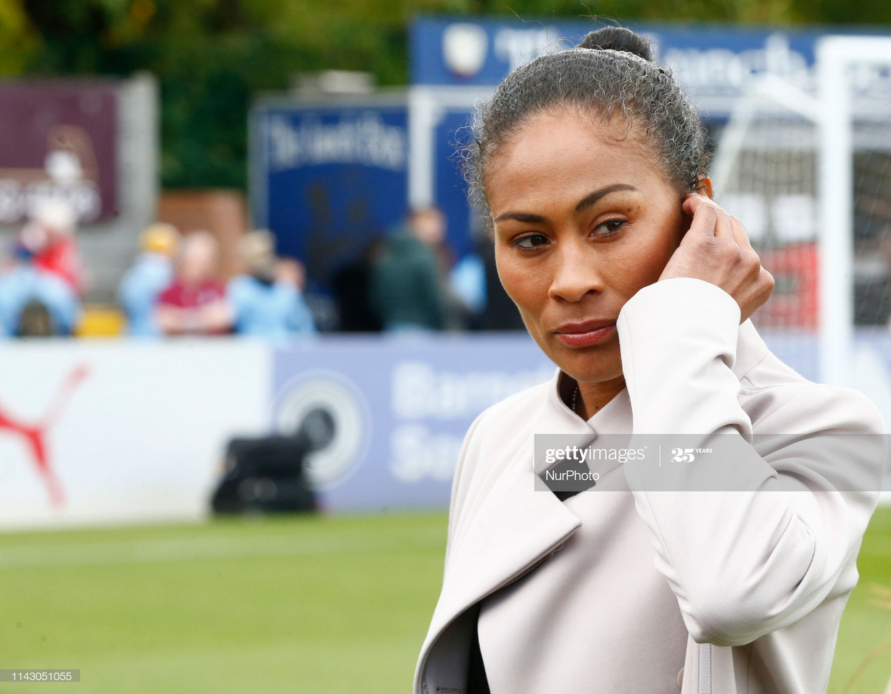Exclusive: Rachel Yankey picks out current Arsenal star she'd love to play with
