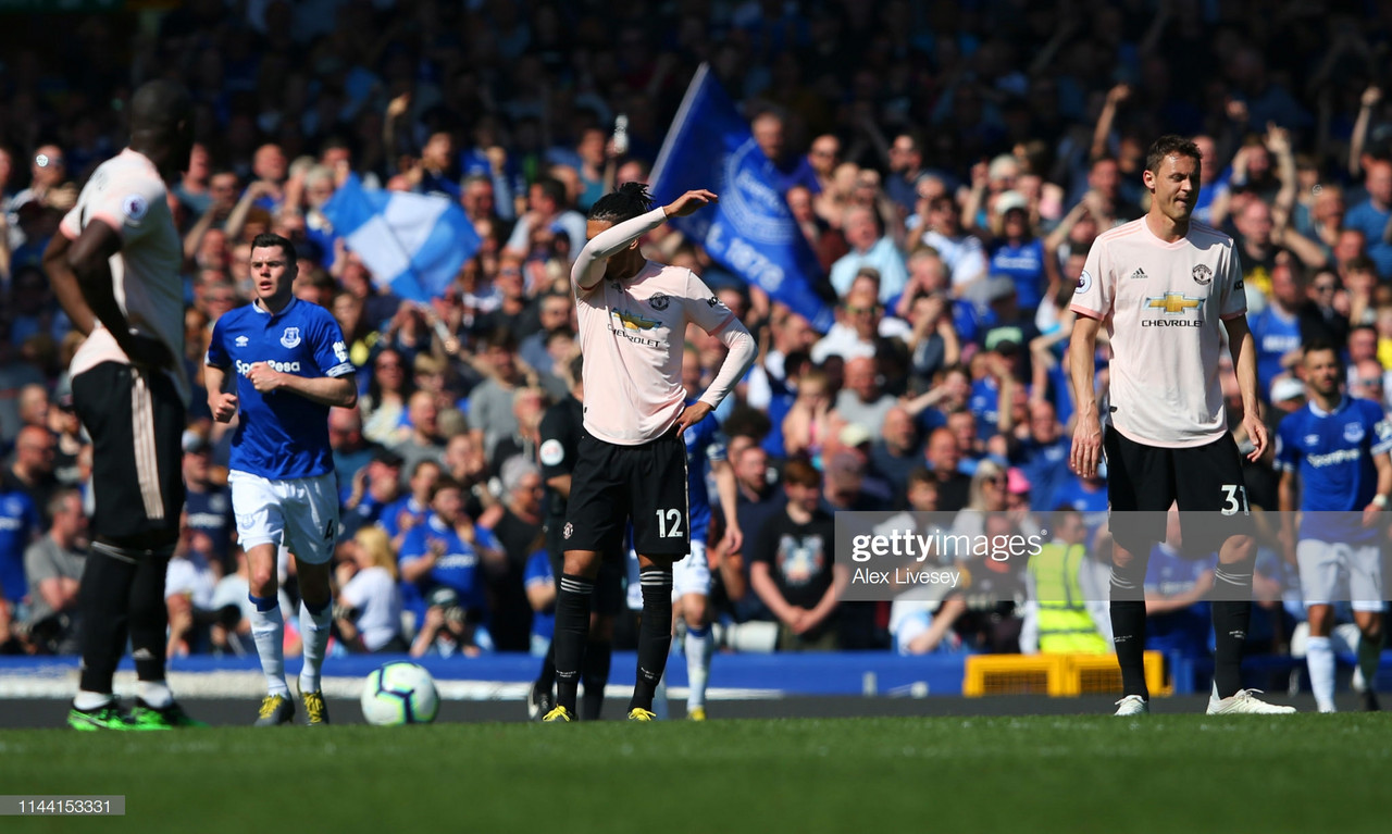 Everton 4-0 Manchester United: Solskjær's men humilated by dominant Toffees at Goodison