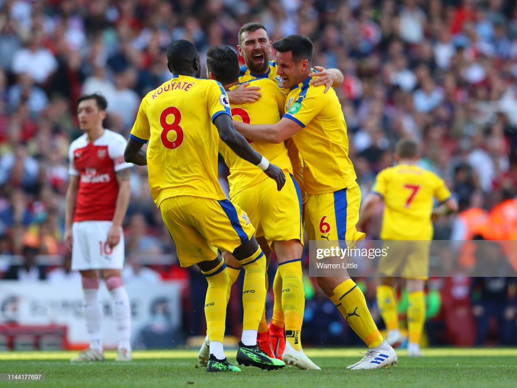 The Warm Down: Arsenal crumble as Palace secure safety in style