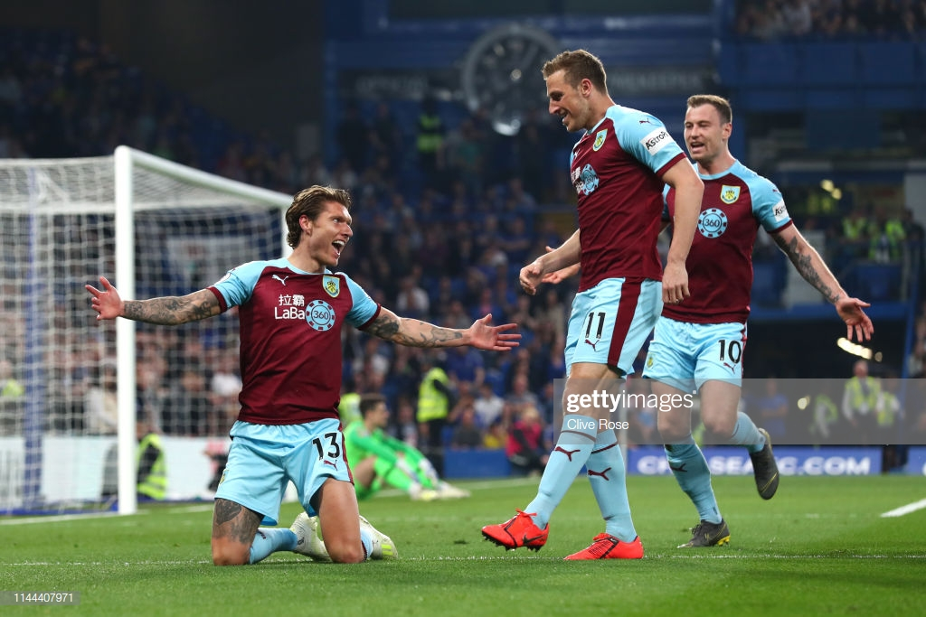 Chelsea 2-2 Burnley: Blues held at the Bridge
