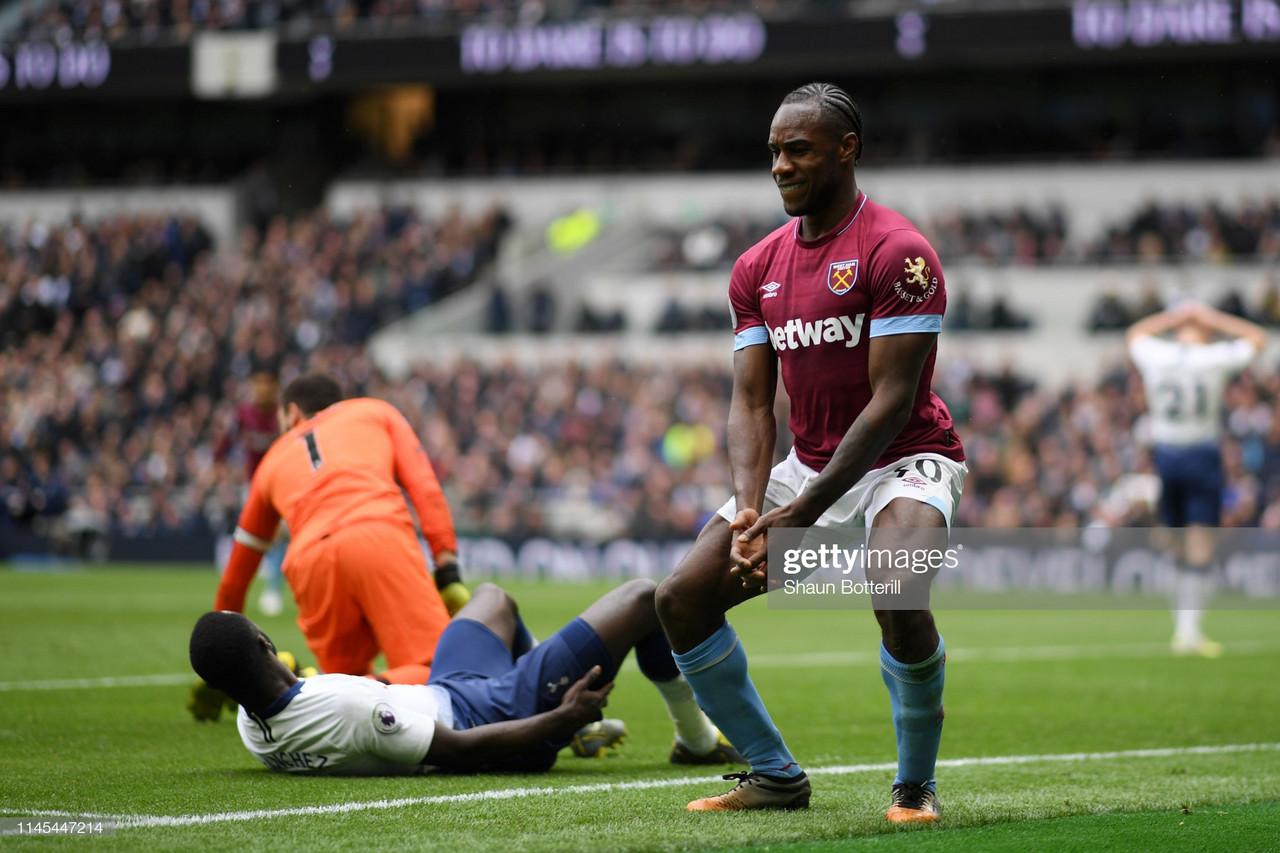 Tottenham 0-1 West Ham: Michail Antonio hands Spurs first defeat at new stadium