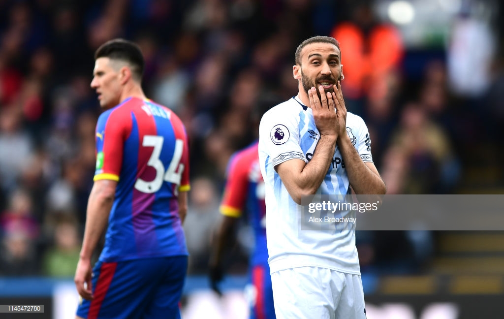 Crystal Palace 0-0 Everton: Blues have Europa League hopes dashed in dissapointing draw with Eagles