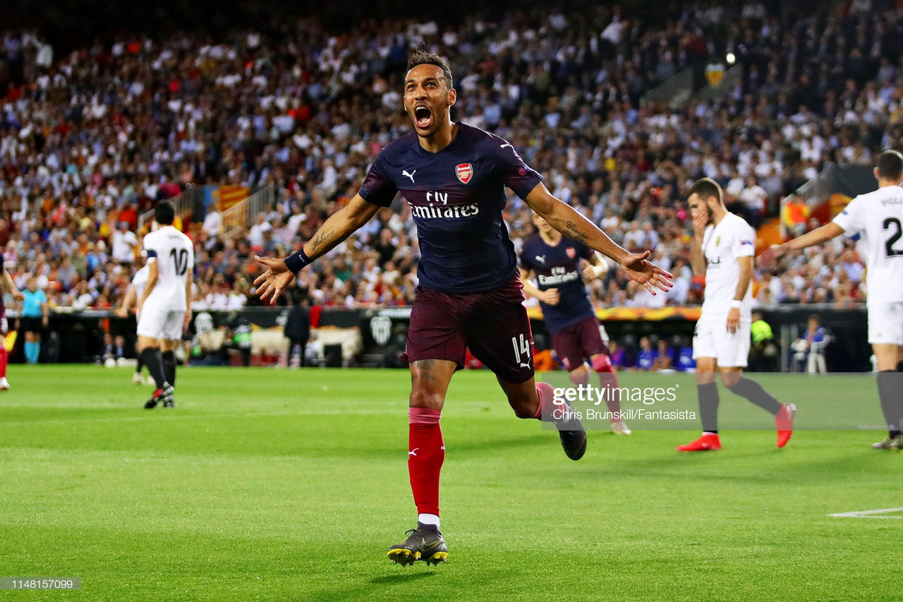 The Warm Down: Aubameyang hat-trick fires Arsenal into Europa League final