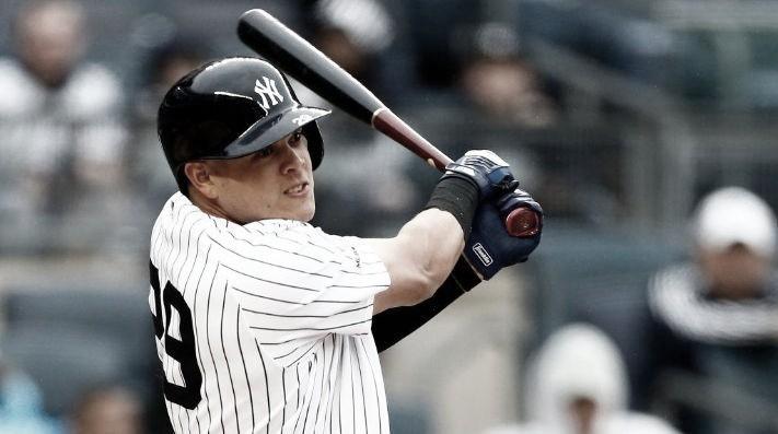 Gio Urshela, en el top 3 de la ofensiva de los Yankees