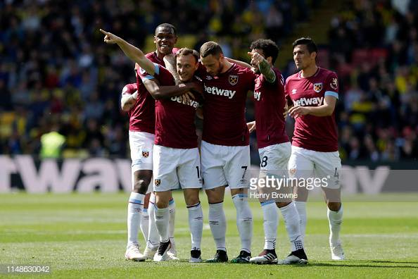 Watford 1-4 West Ham United: Hammers knock Hornets out of the top half