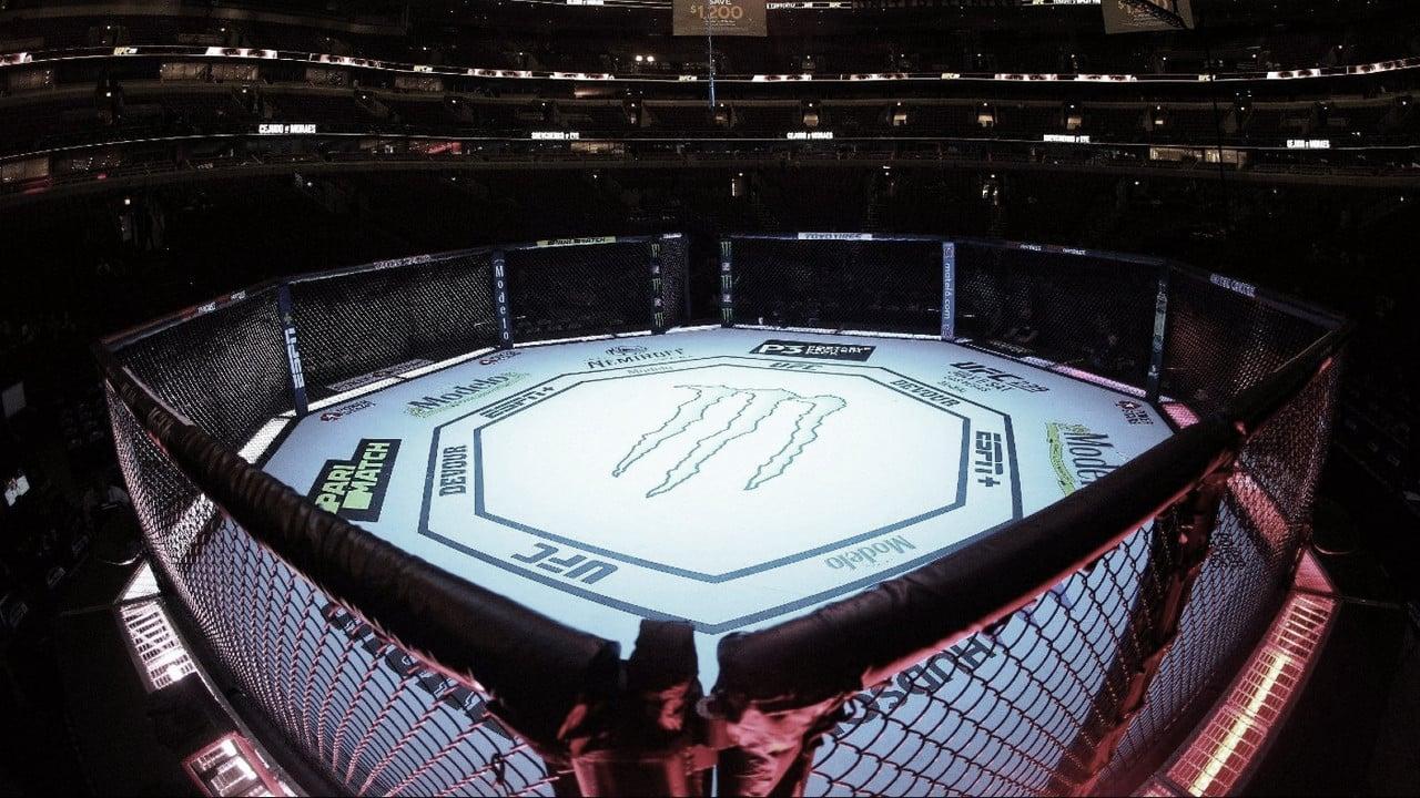 El octágono más famoso del mundo es dueño de grandes marcas (Foto: UFC)