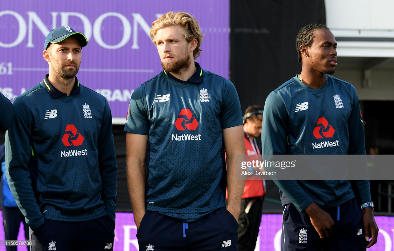 2019 Cricket World Cup: England confirm 15-man squad - as Willey and Denly miss out