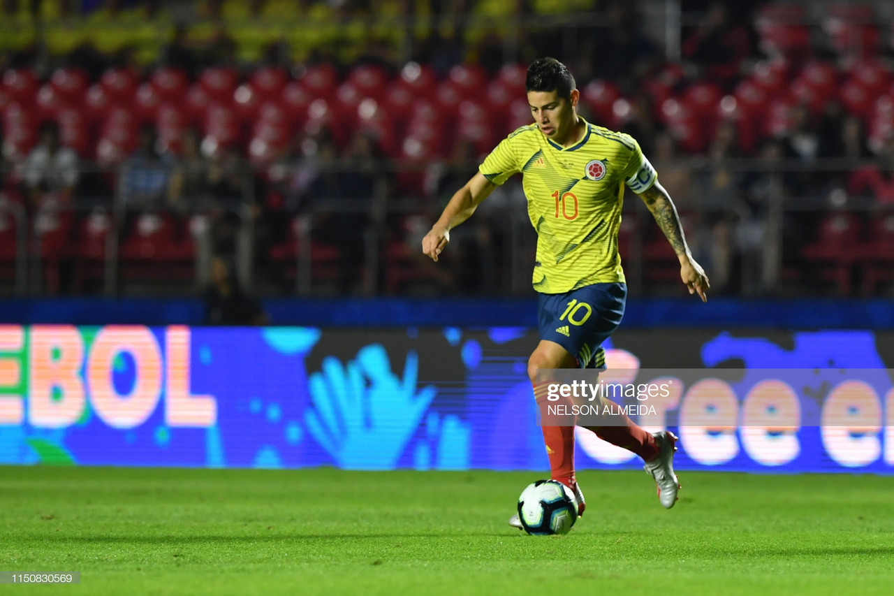 Colombia 1-0 Qatar: James and Zapata late-show helps Colombia overcome Qatar and VAR