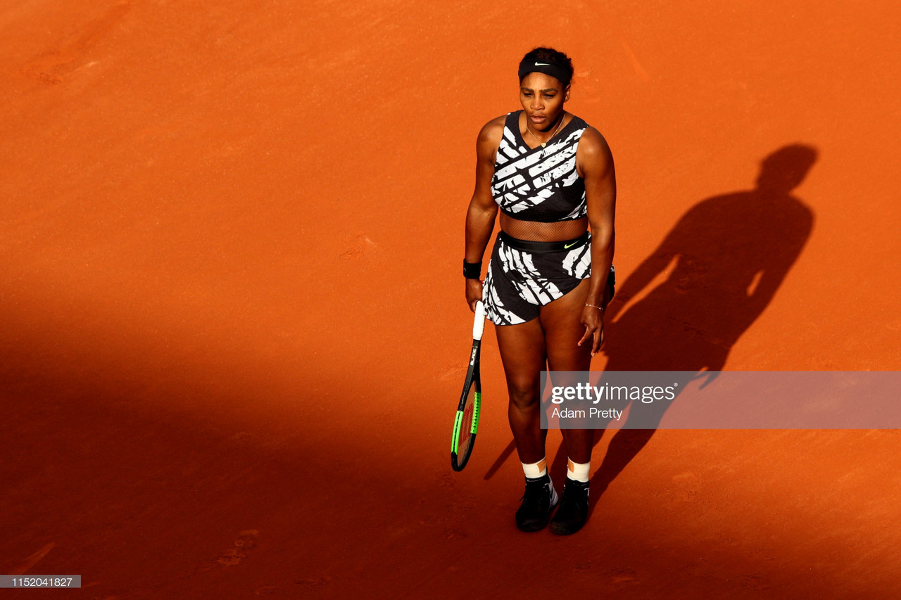 French Open: Serena Williams overcomes poor start to reach Round Two