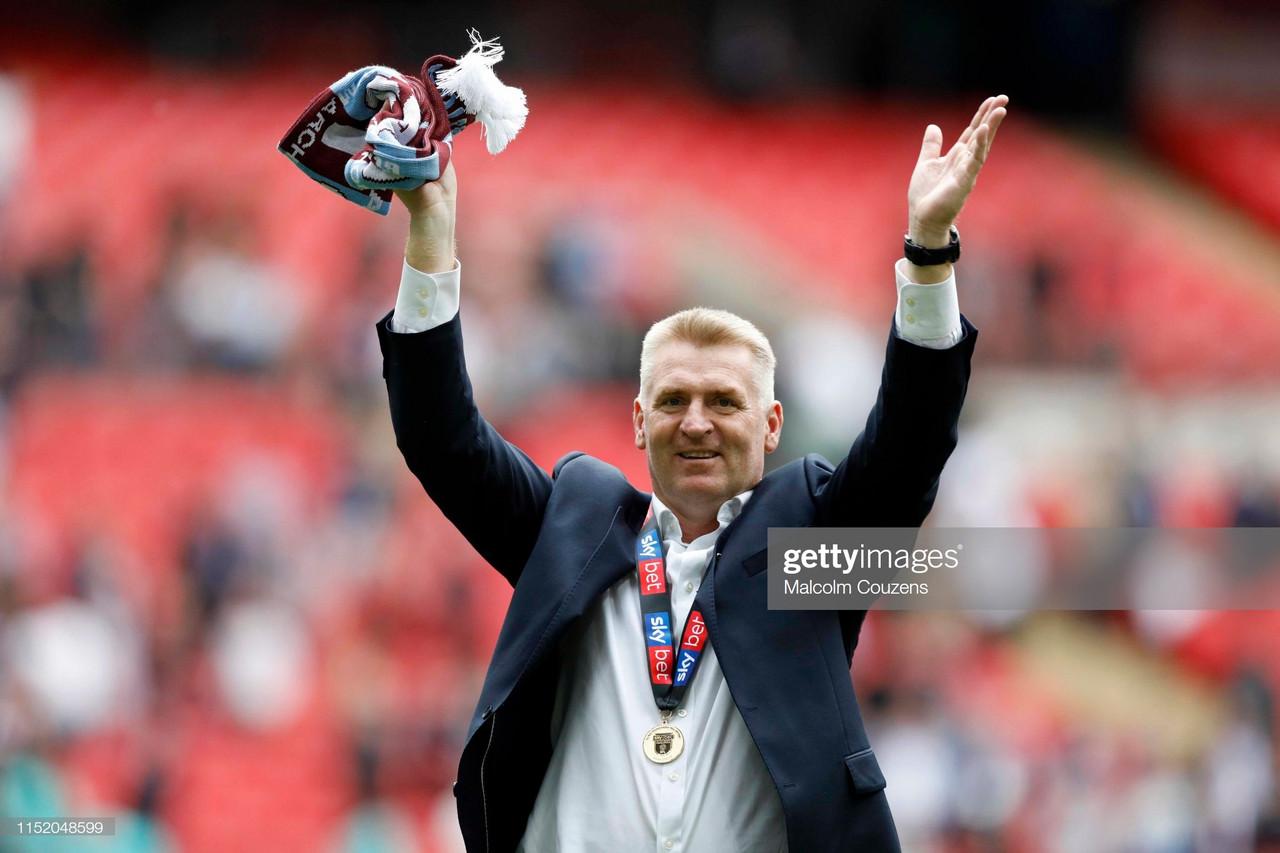 Dean Smith pens new Aston Villa deal to last until 2023