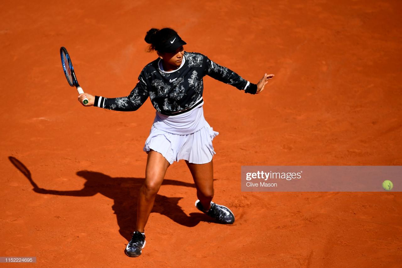 French Open: Naomi Osaka battles from the brink to down Anna Karolina Schmiedlova