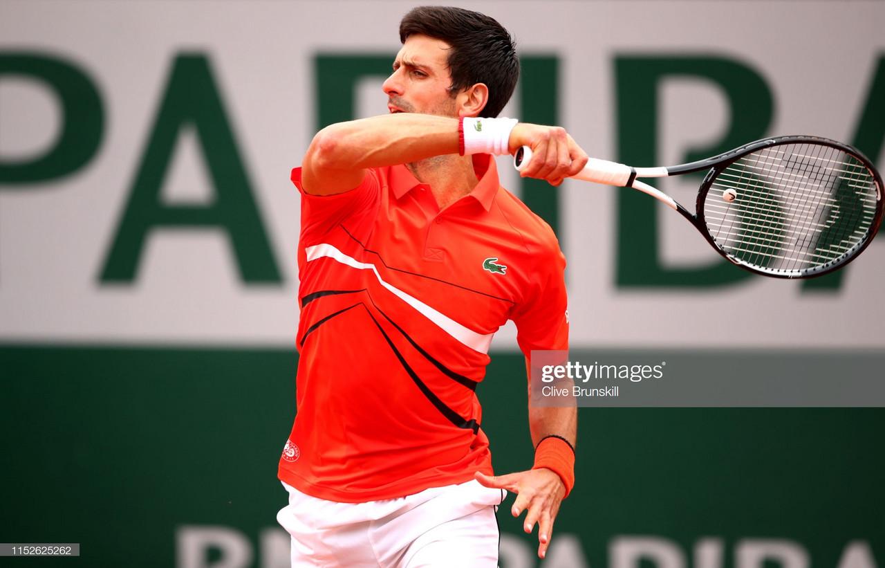 French Open: Novak Djokovic breezes through to Round Three