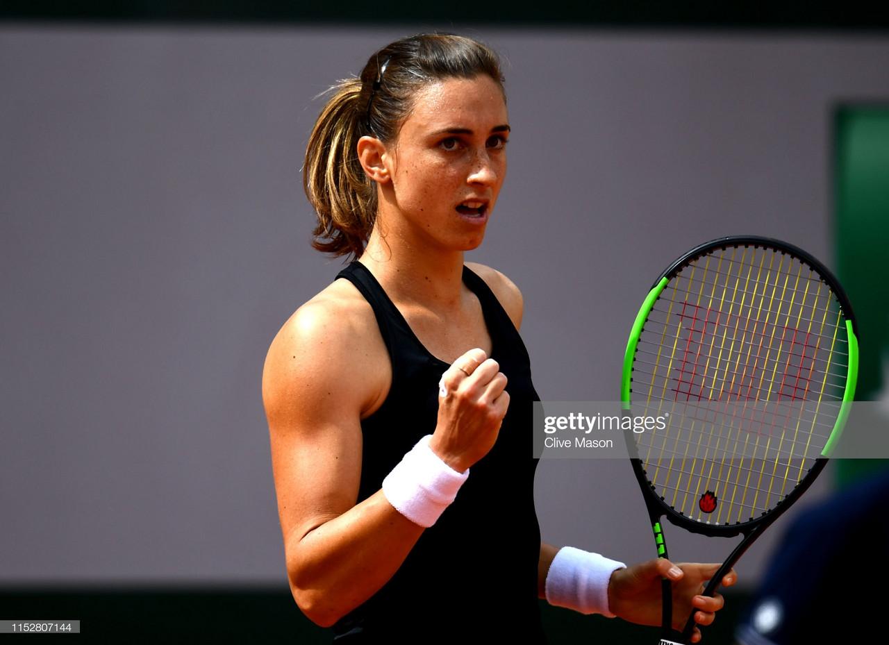 French Open: Petra Martic stuns Karolina Pliskova to reach last 16
