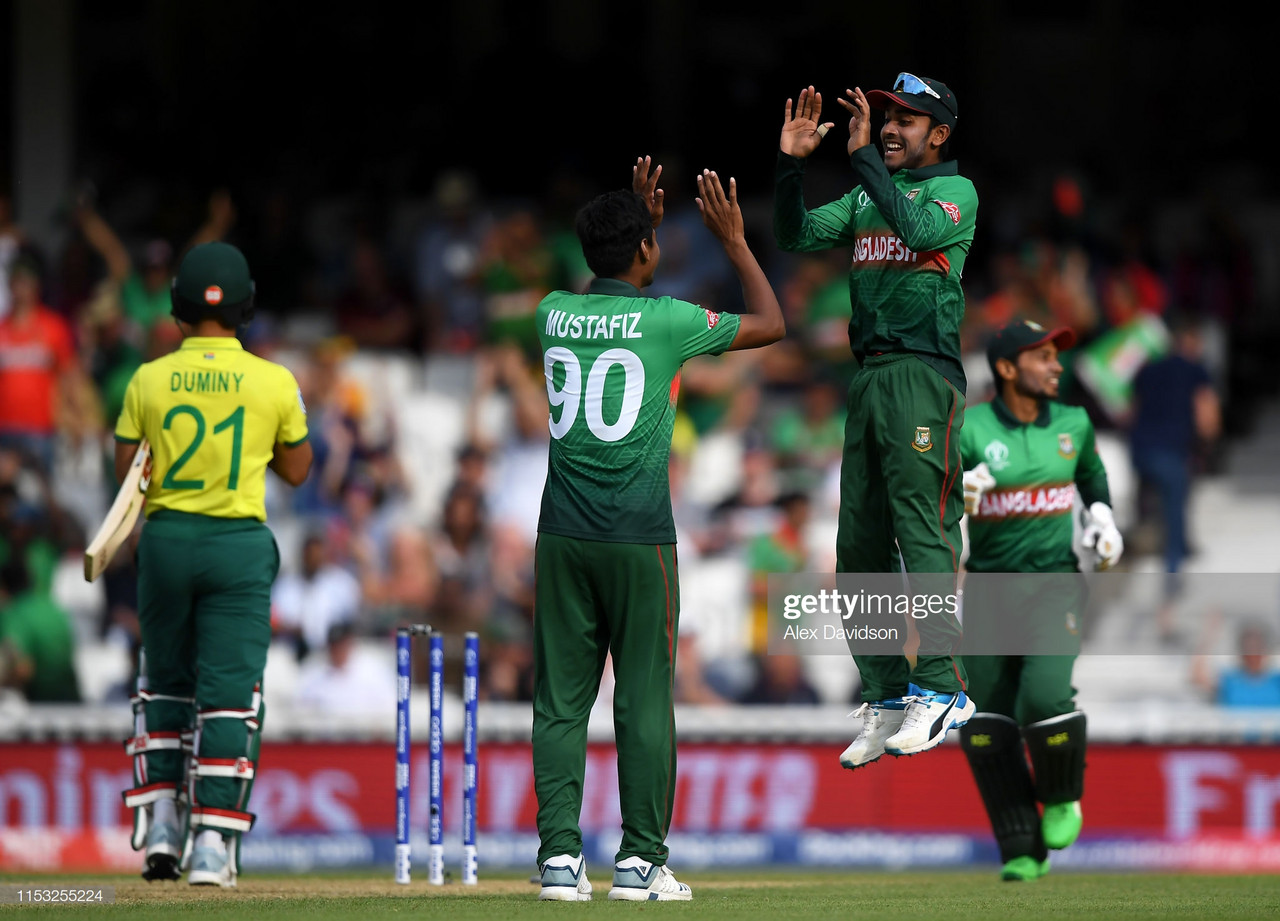 2019 Cricket World Cup: South Africa stunned by Bangladesh