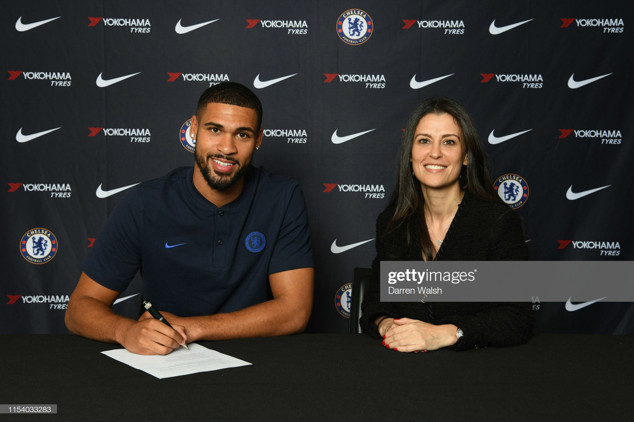 Loftus Cheek signs new five-year contract with Chelsea
