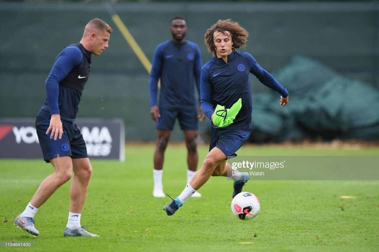David Luiz: You can't play for Chelsea without trophies on your mind