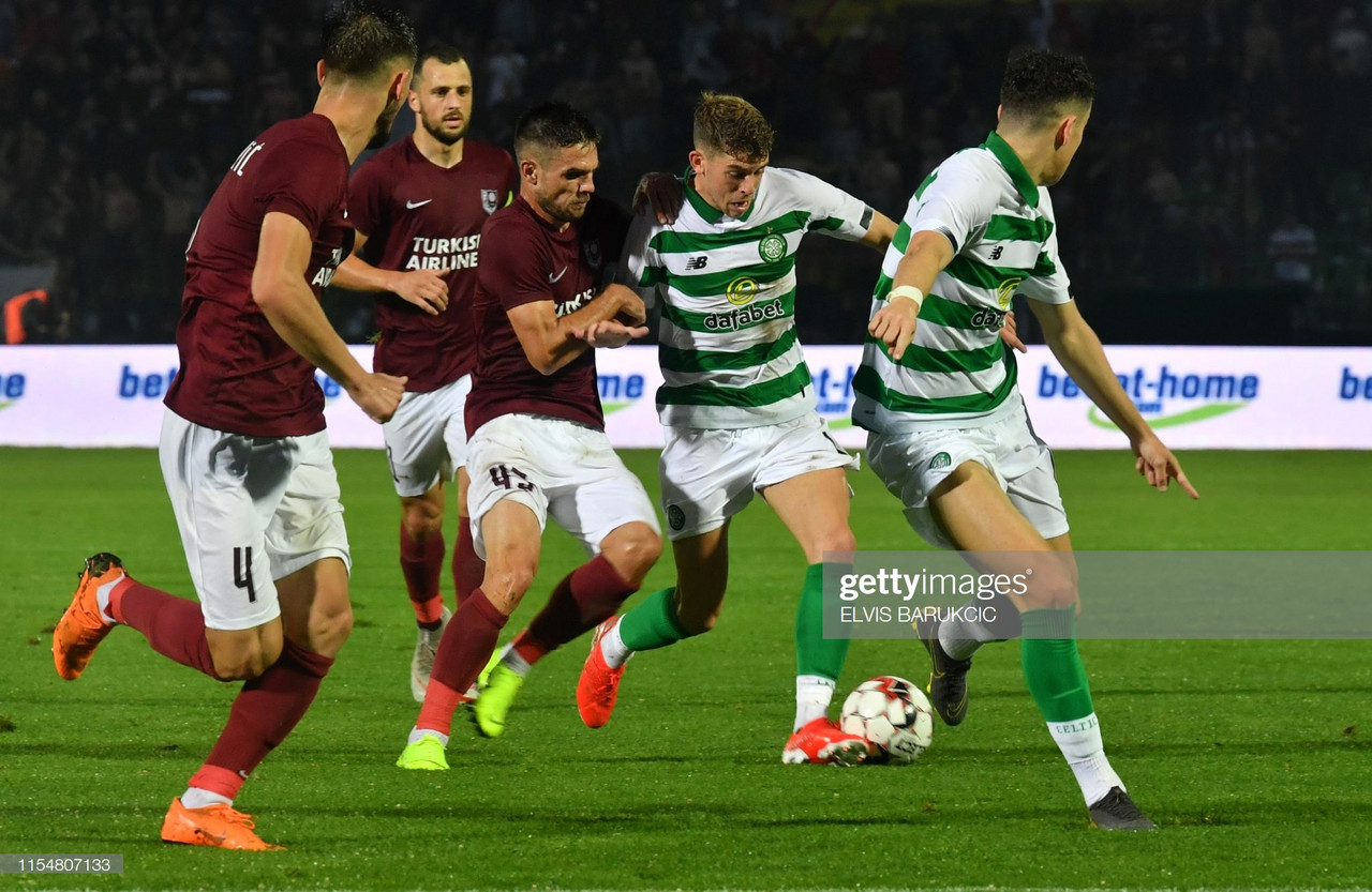 Celtic 2 - 1 FK Sarajevo: Hoops progress in Champions League