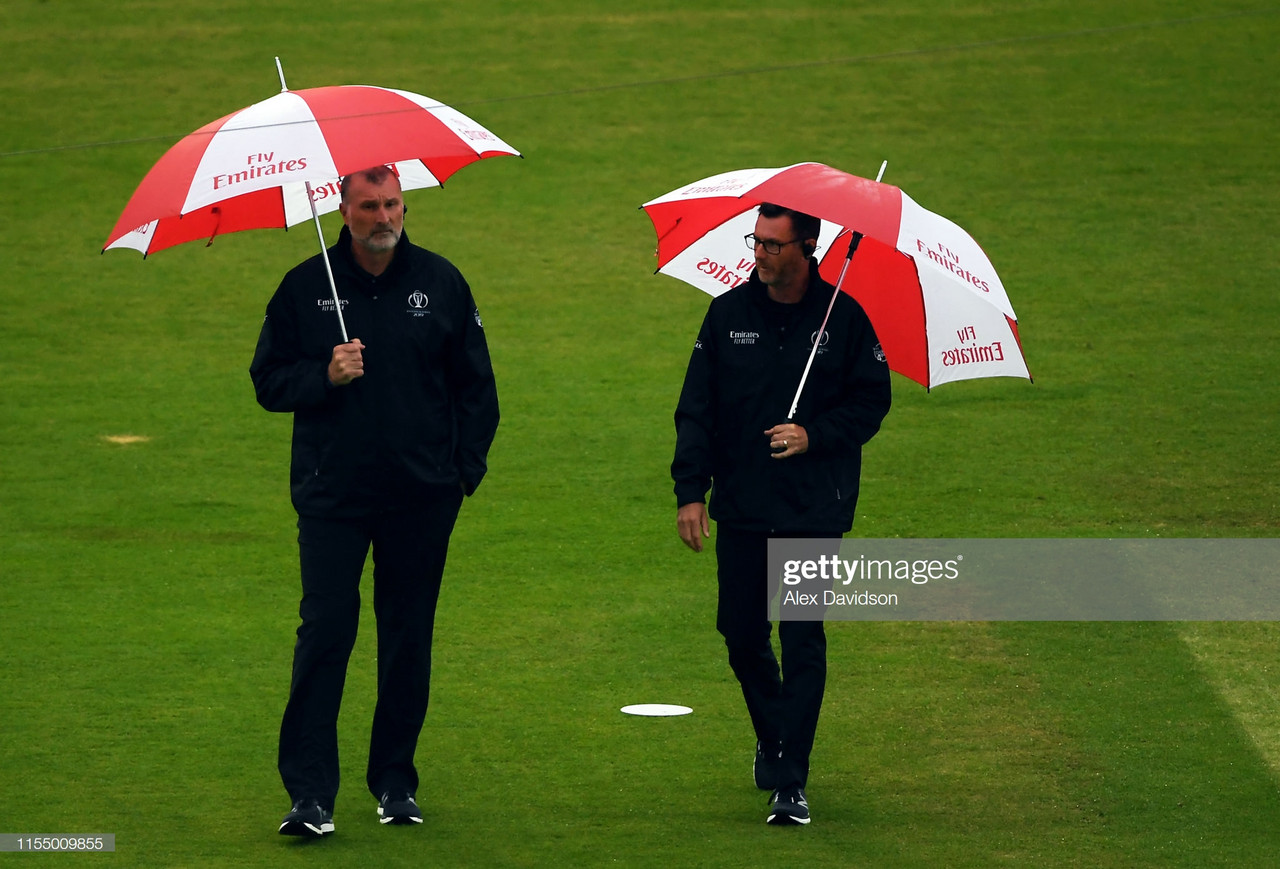 2019 Cricket World Cup: Rain damages South Africa's semi-final hopes