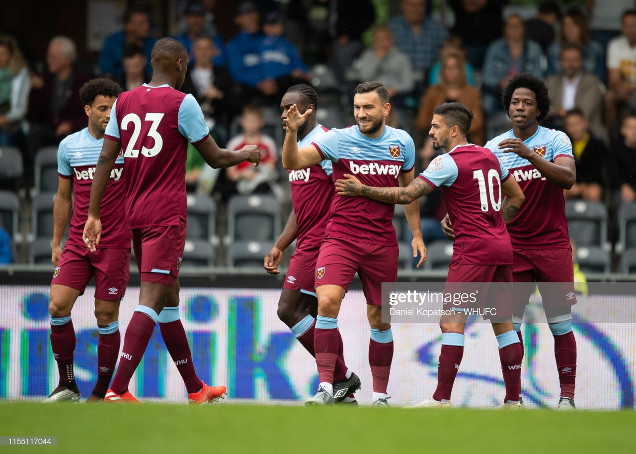 SCR Altach 2-3 West Ham United: Hammers start their pre-season with a win