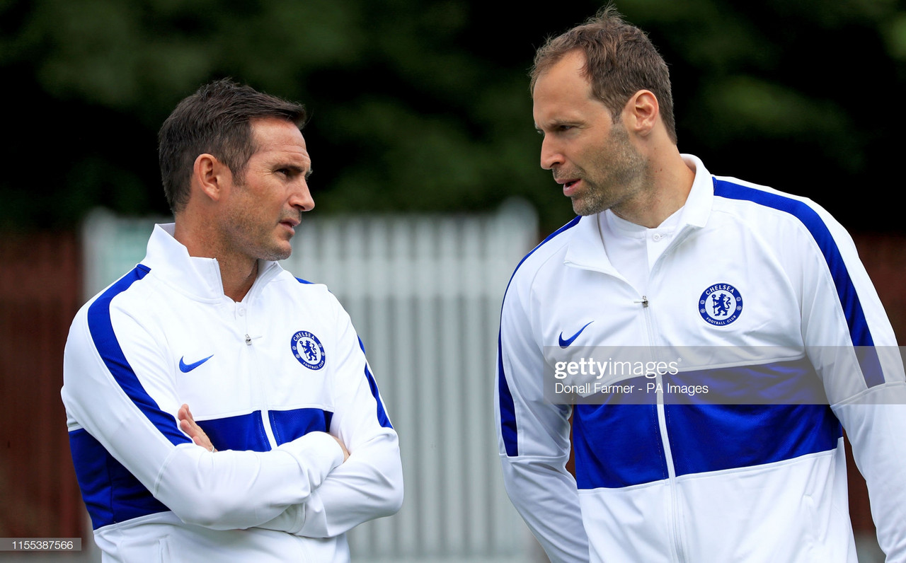 Frank Lampard wants his players to mirror the Chelsea greats