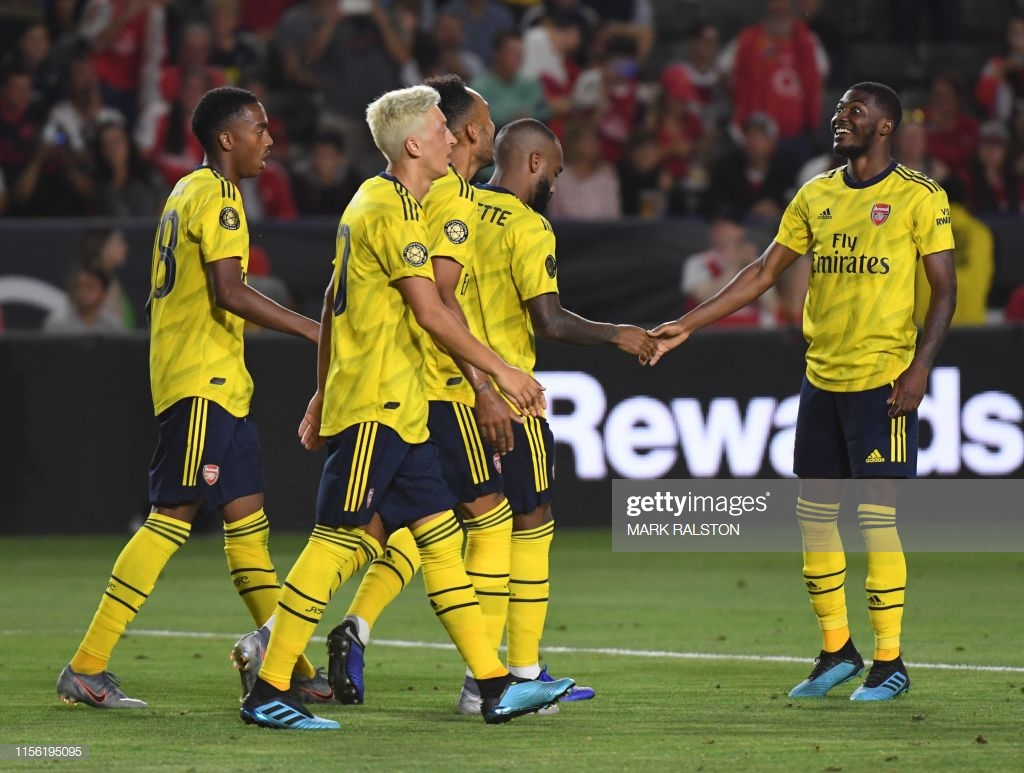 Arsenal 2-1 Bayern Munich: Emery's men victorious in Los Angeles