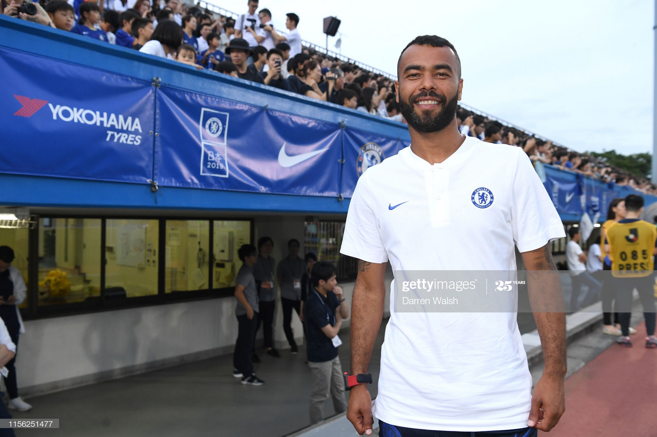 Ashley Cole: 'Winning trophies was down to a solid base'