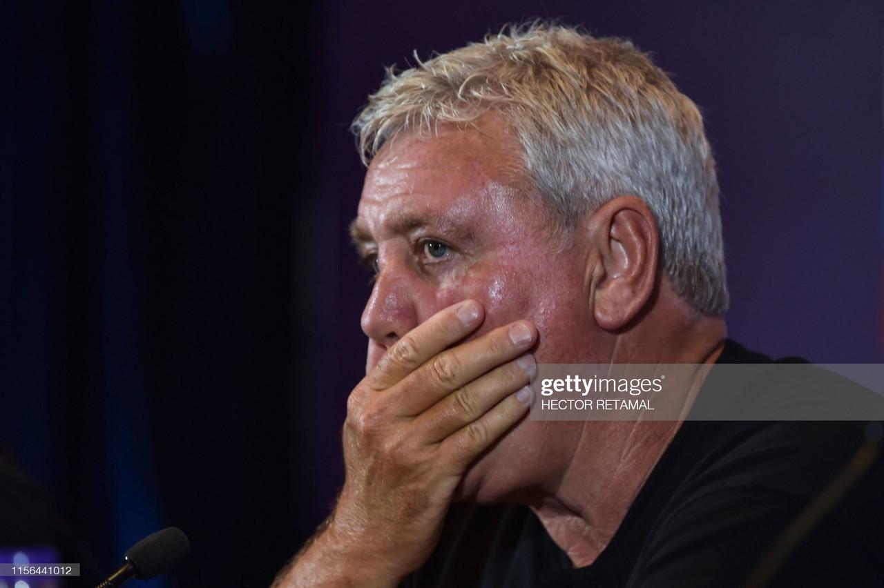 Steve Bruce's season targets are dangerous