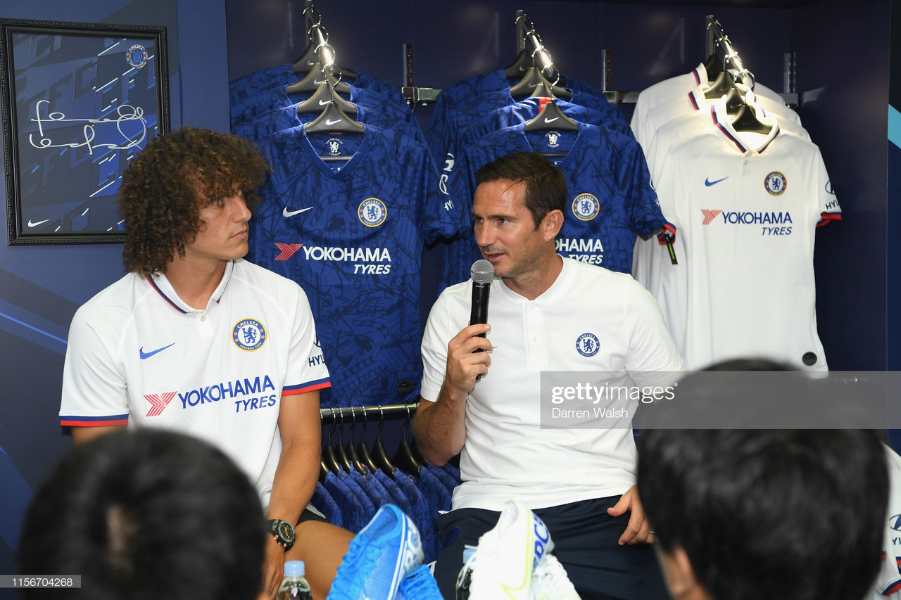 Frank Lampard lifts the lid on David Luiz's sensational switch to Arsenal