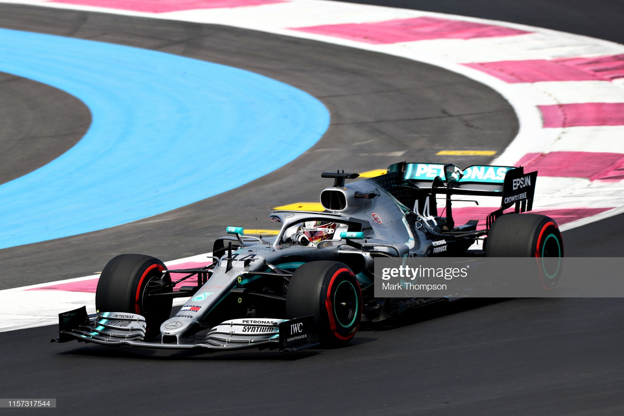 Hamilton leads a Mercedes 1-2 in FP1